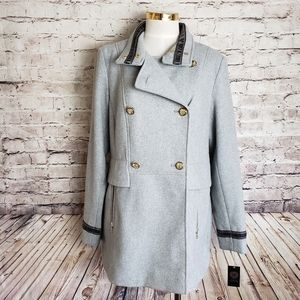 NWT Vince Camuto Double Breasted Pea Coat